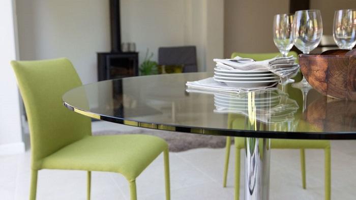 4 điểm cộng của bàn ăn kính cường lực