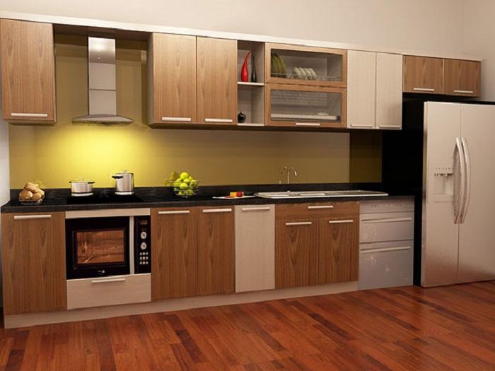 5 điểm cộng của tủ bếp nhôm kính hiện đại