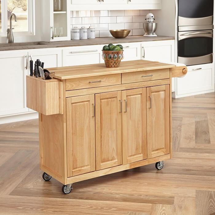 Bàn bếp mini đầy đủ công năng cho gian bếp nhỏ-2