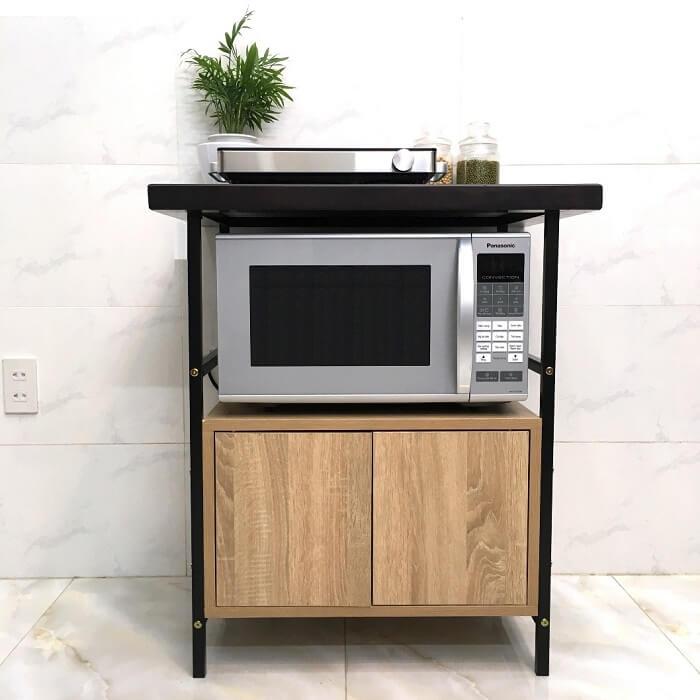 Bàn bếp mini đầy đủ công năng cho gian bếp nhỏ