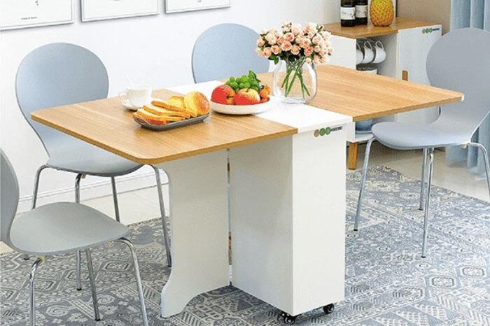 Bàn ăn gấp gọn – lựa chọn hoàn hảo cho một căn bếp diện tích nhỏ