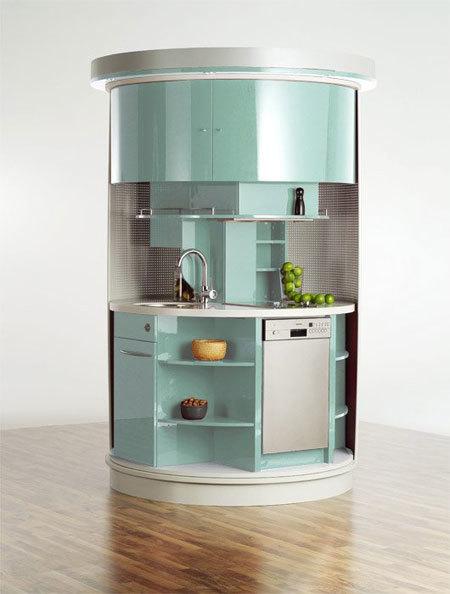 Bàn bếp mini đầy đủ công năng cho gian bếp nhỏ-01