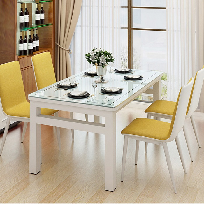 Cùng chiêm ngưỡng những mẫu bàn ăn mặt kính đẹp nhất