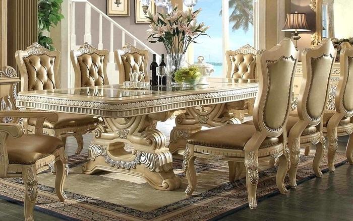 Lựa chọn bàn ghế ăn tân cổ điển phù hợp cho mọi không gian