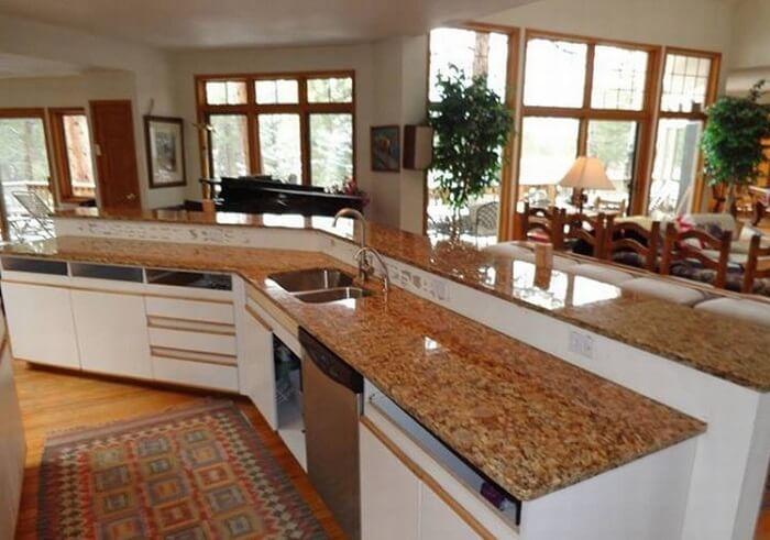 Mặt đá bếp đẹp với đá hoa cương sang trọng-6