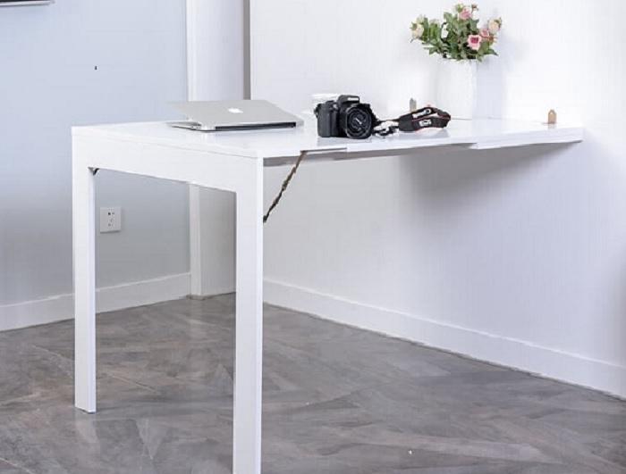 Sử dụng bàn ăn thông minh gắn tường như thế nào