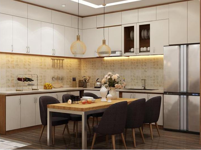 Tủ bếp thông minh - Xu hướng nhà bếp hiện đại 2020-02