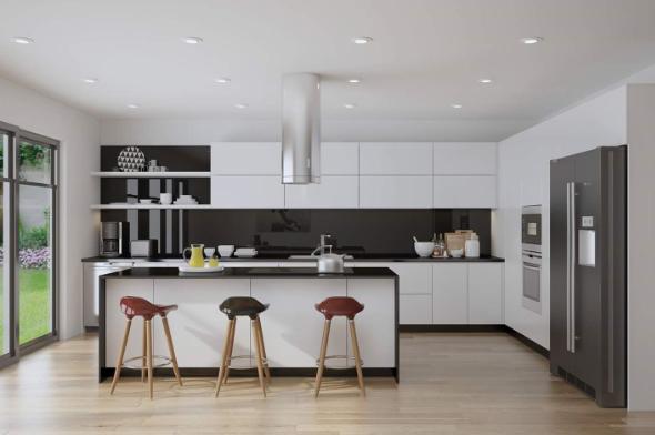 Tủ bếp thông minh - Xu hướng nhà bếp hiện đại 2020-03