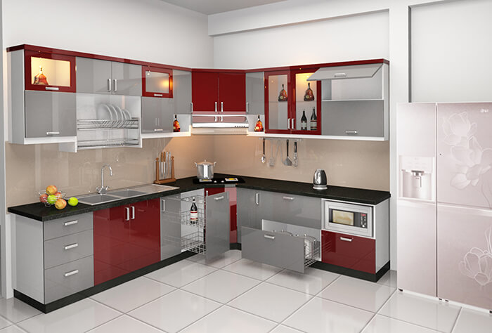 Tủ bếp thông minh - Xu hướng nhà bếp hiện đại 2020-1