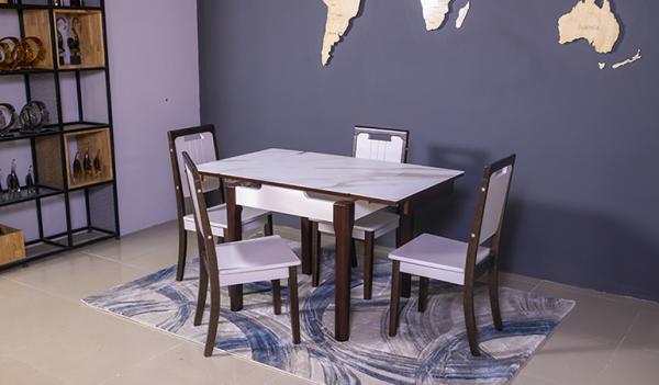 Bộ bàn ăn thông minh 863 (Kèm 4 ghế)-02