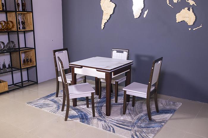 Bộ bàn ăn thông minh 863 (Kèm 4 ghế)-1