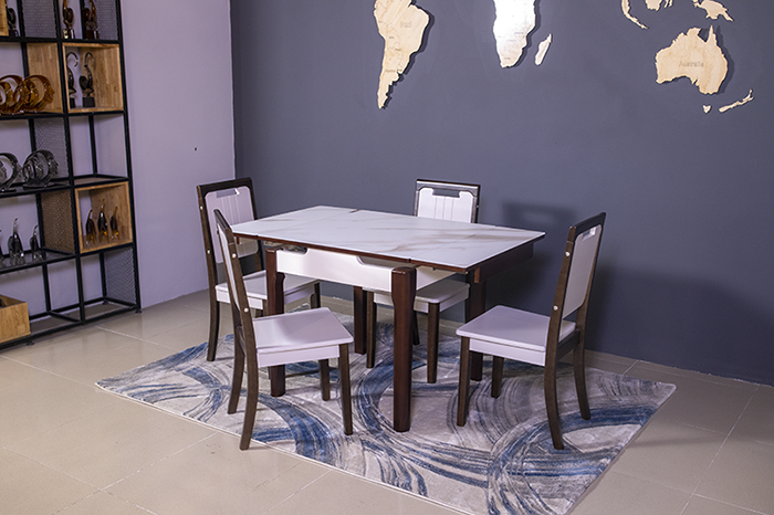 Bộ bàn ăn thông minh 863 (Kèm 4 ghế)-2
