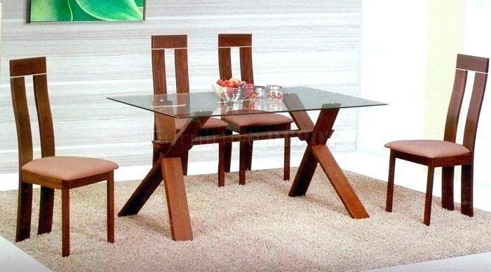 Không gian bếp đẹp thời thượng với những mẫu bàn ăn kính hiện đại