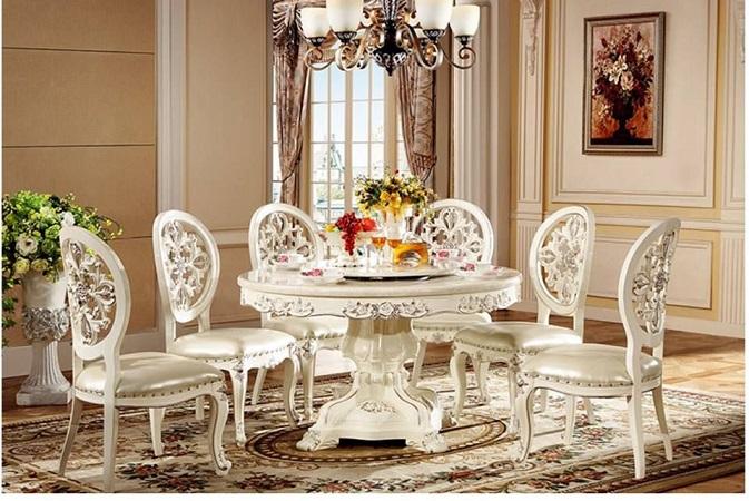 Sự khác biệt của bàn ăn mặt đá hiện đại so với bàn ăn mặt đá tân cổ điển
