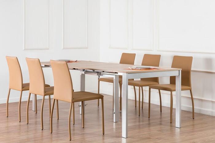 kinh nghiệm lựa chọn bộ bàn ăn thông minh 6 ghế