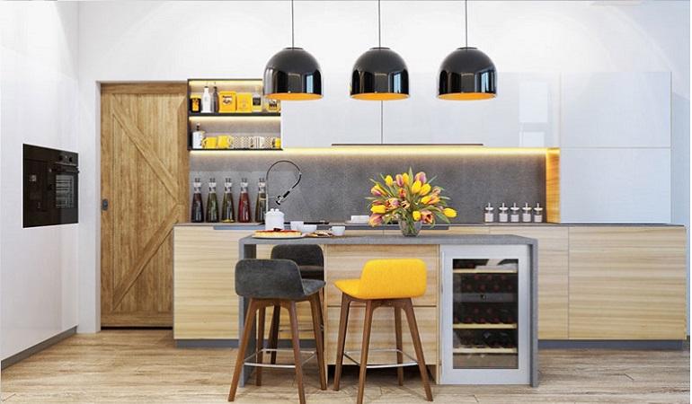 10 thiết kế tủ bếp thông minh cho căn nhà nhỏ trong thập kỉ mới