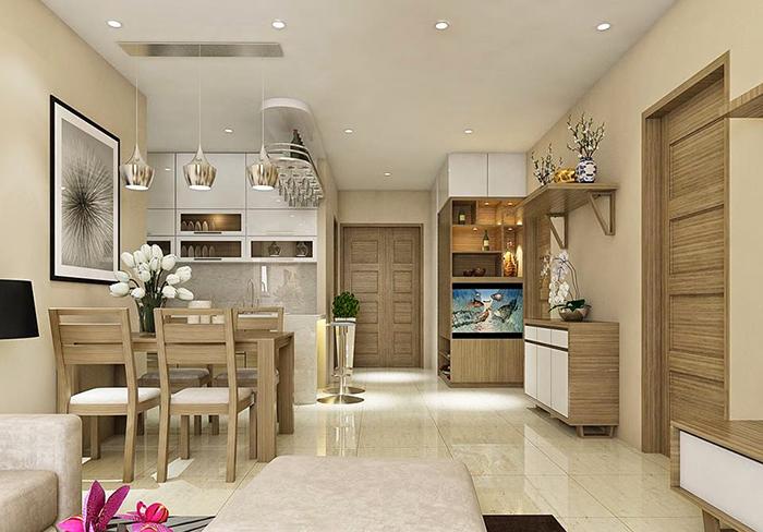 Chia sẻ cách bố trí bàn ăn trong bếp nhỏ hẹp-4
