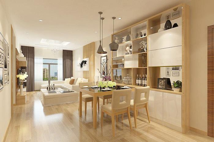 Chia sẻ cách bố trí bàn ăn trong bếp nhỏ hẹp-5