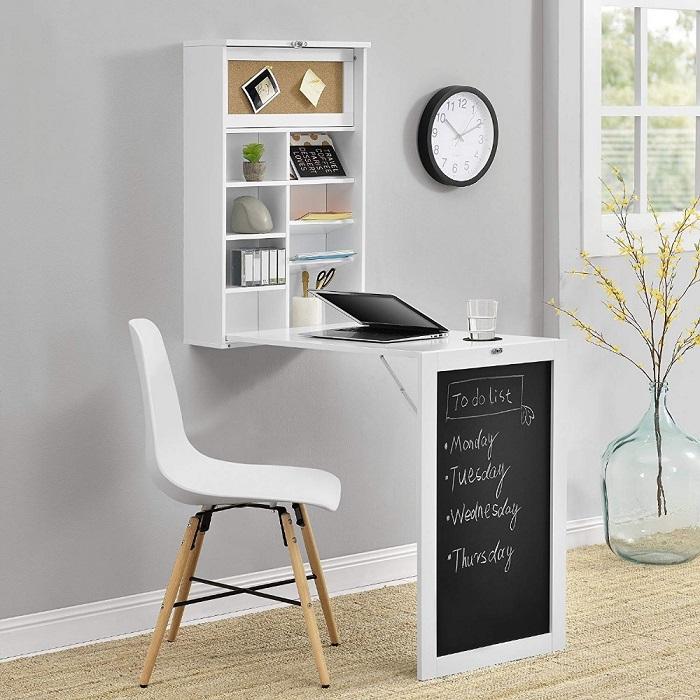 Bàn xếp tường thông minh - Giải pháp cho căn phòng nhỏ-2