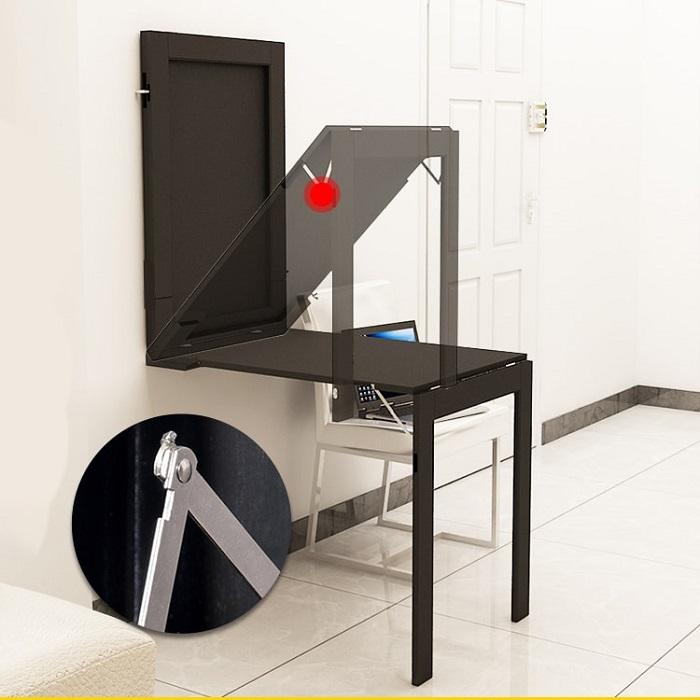 Bàn xếp tường thông minh - Giải pháp cho căn phòng nhỏ-8