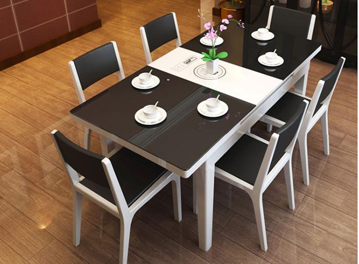 Bộ bàn ăn 6 ghế hiện đại giá rẻ tại Hà Nội-01