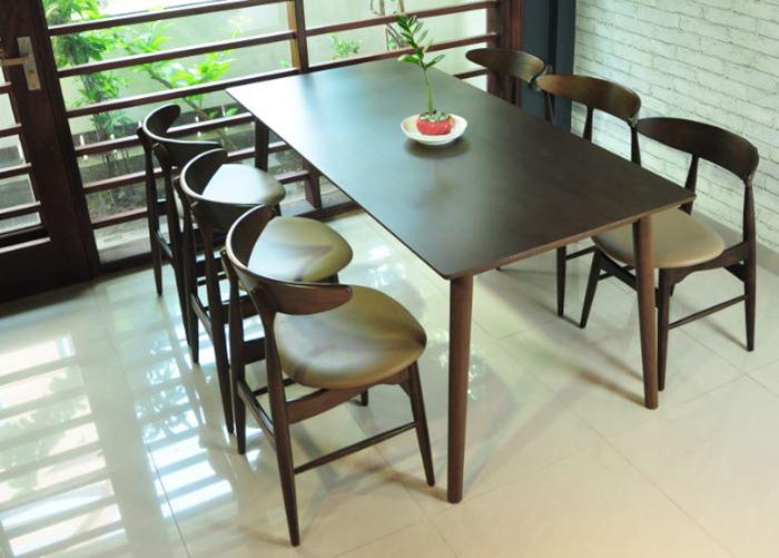 Bộ bàn ăn 6 ghế hiện đại giá rẻ tại Hà Nội-02