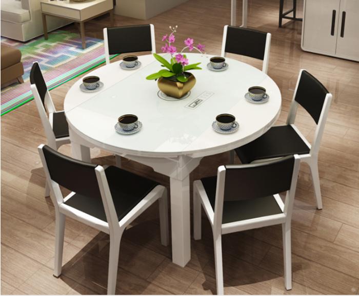 Bộ bàn ăn 6 ghế hiện đại giá rẻ tại Hà Nội-03