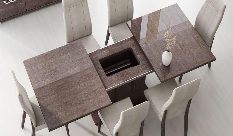 Điểm danh những mẫu bàn ăn 6 ghế đẹp mới nhất 2020