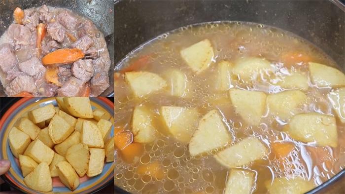 Bò hầm khoai tây - thực phẩm bồi bổ cho người già-5