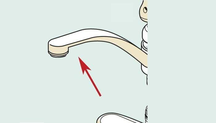 Cấu tạo và các bộ phận cơ bản của vòi rửa bát -4