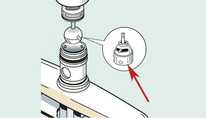 Cấu tạo và các bộ phận cơ bản của vòi rửa bát -6