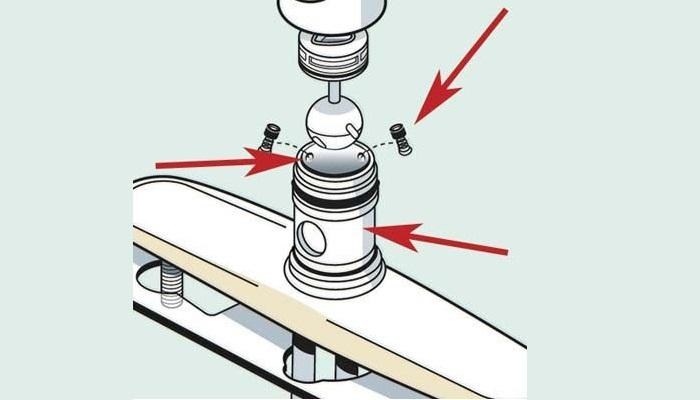 Cấu tạo và các bộ phận cơ bản của vòi rửa bát -7