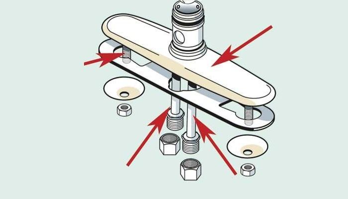 Cấu tạo và các bộ phận cơ bản của vòi rửa bát -8
