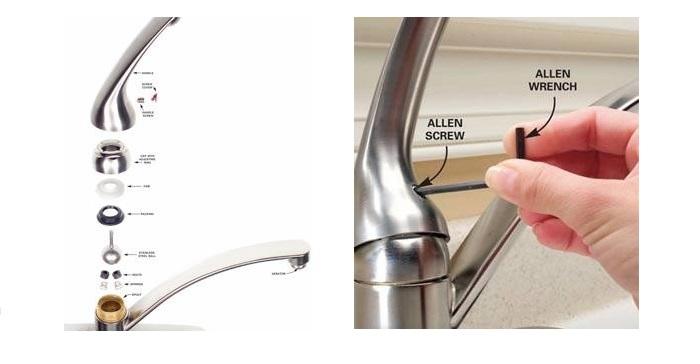 Nguyên nhân, cách khắc phục vòi nước bồn rửa chén rò rỉ-2