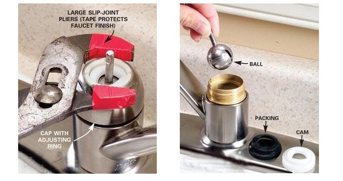 Nguyên nhân, cách khắc phục vòi nước bồn rửa chén rò rỉ-3