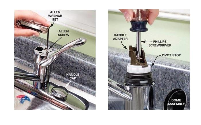 Nguyên nhân, cách khắc phục vòi nước bồn rửa chén rò rỉ-6