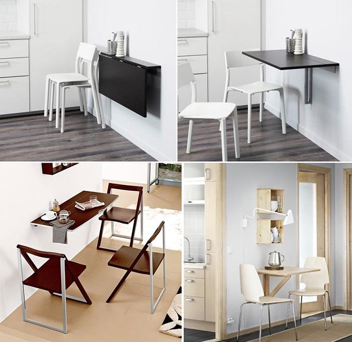 Sang trọng không gian bếp với bộ bàn ghế ăn hiện đại bằng gỗ