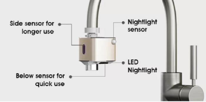 Vòi bồn rửa bát thông minh – Hoàn thiện ngôi nhà của bạn -3