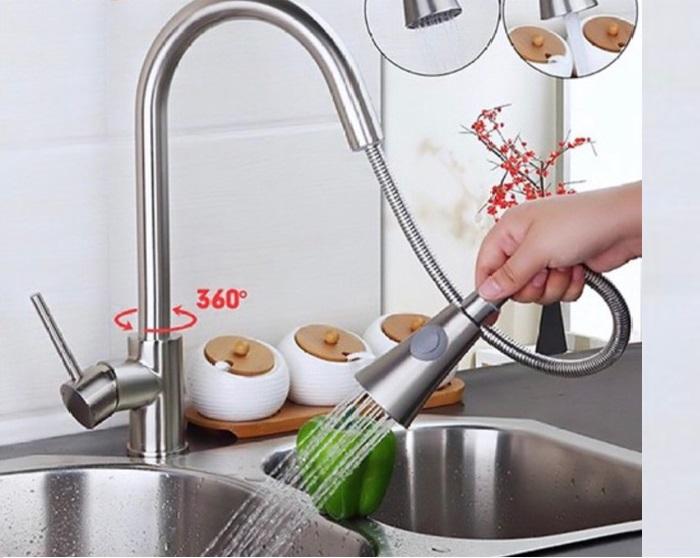 Vòi rửa chén dây rút – đặc tính và ưu, nhược điểm-4