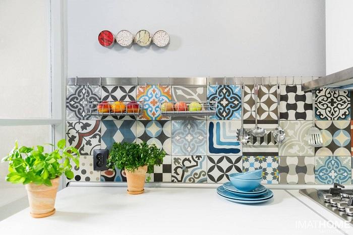 Bộ sưu tập những mẫu gạch bông ốp bếp ấn tượng-1