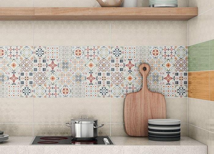 Bộ sưu tập những mẫu gạch bông ốp bếp ấn tượng-4