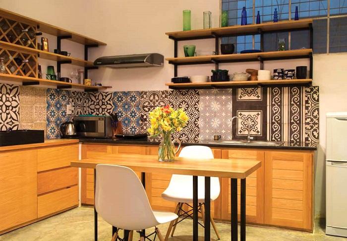 Bộ sưu tập những mẫu gạch bông ốp bếp ấn tượng-6