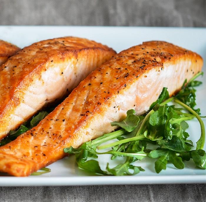Cách chế biến cá hồi sốt cam, một món ăn bổ phổi-2