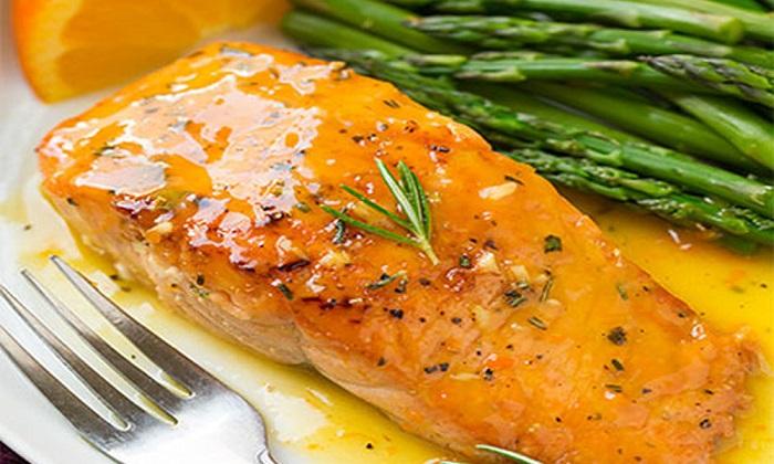 Cách chế biến cá hồi sốt cam, một món ăn bổ phổi-4