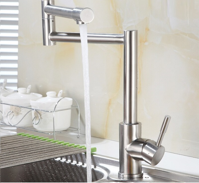 Cách kiểm tra vòi rửa bát inox 304 thép không gỉ-10
