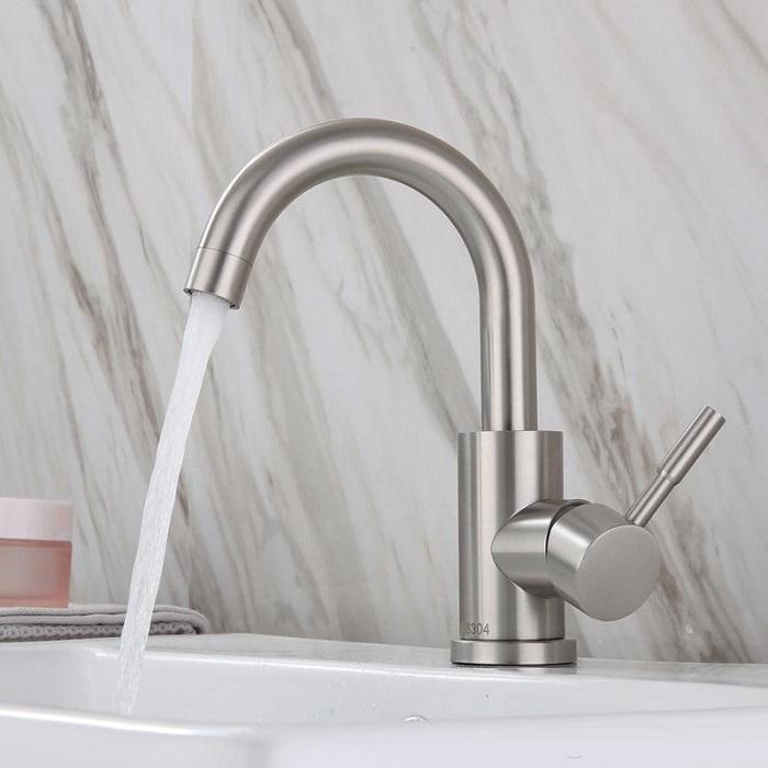 Cách kiểm tra vòi rửa bát inox 304 thép không gỉ-4
