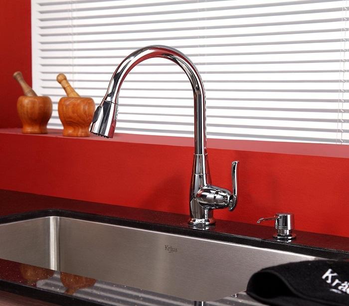 Cấu tạo vòi rửa bát và phân loại theo chất liệu-7