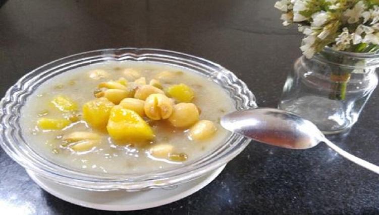 Chè bí đỏ hạt sen - món ăn cho người đau dạ dày-5