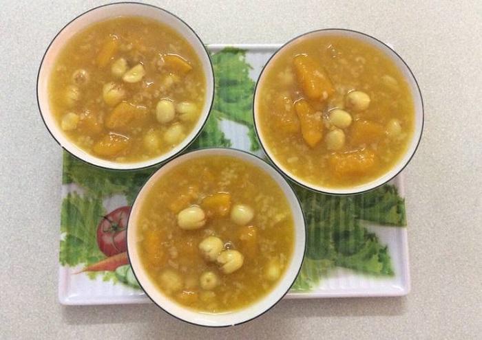 Chè bí đỏ hạt sen - món ăn cho người đau dạ dày-6