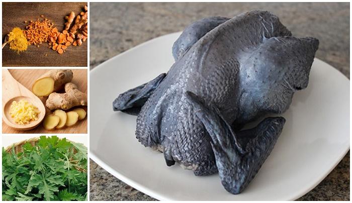 Gà hầm ngải cứu - Món ăn bổ dưỡng cho người mệt mỏi-3
